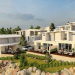 10 modern style townhouses built with luxury open floor plans in high-end Shellharbour, white colour palette, sandy tones